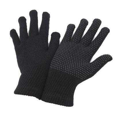 Front - FLOSO Unisex Magic Gloves With Grip