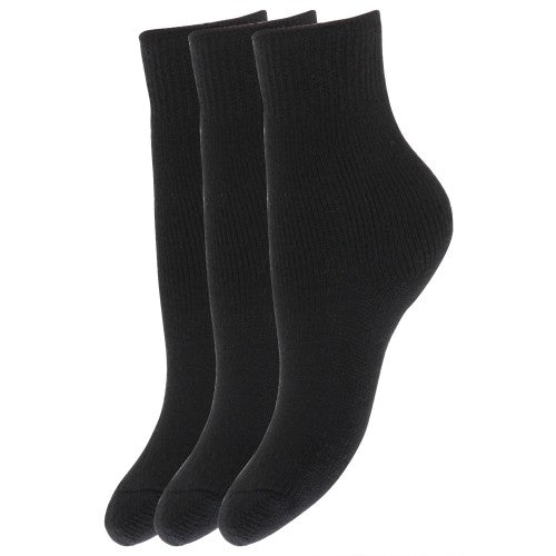 Front - FLOSO Childrens Boys/Girls Winter Thermal Socks (Pack Of 3)