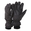Black (As Shown) - Front - FLOSO Mens Thinsulate Padded Thermal Gloves With Palm Grip (3M 40g)