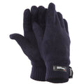 Navy - Front - FLOSO Ladies-Womens Thinsulate Thermal Knitted Gloves (3M 40g)