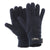 Grey - Front - FLOSO Mens Thermal Thinsulate Knitted Winter Gloves (3M 40g)