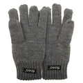 Navy - Front - FLOSO Childrens Unisex Knitted Thermal Thinsulate Gloves (3M 40g)