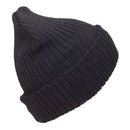 Black - Front - FLOSO Unisex Mens-Womens Winter-Ski Hat With Thinsulate Lining (3M 40g)