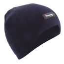 Charcoal - Front - FLOSO Childrens-Kids Plain Thinsulate Thermal Winter Beanie Hat (3M 40g)