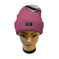 Raspberry - Front - Floso Womens-Ladies Rib Knit Thinsulate Winter Hat