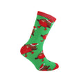 Red-Grey-Green - Front - FLOSO Childrens-Kids Christmas Character Novelty Socks (Pack Of 4)