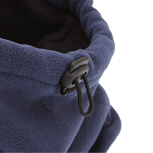 Grey - Front - FLOSO Mens Fleece Thermal Winter Neck Snood