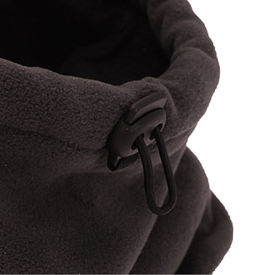 Olive - Front - FLOSO Mens Fleece Thermal Winter Neck Snood