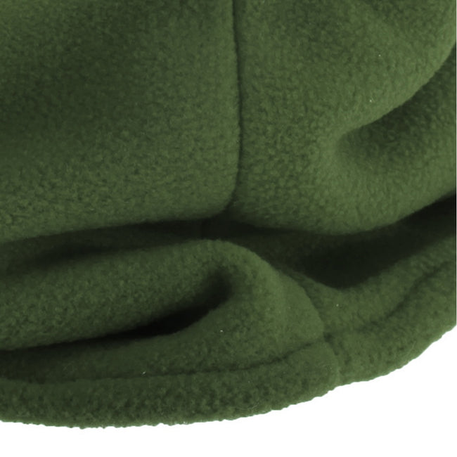 Olive - Front - FLOSO Childrens-Kids Fleece Winter Neckwarmer - Snood