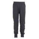 Charcoal - Front - FLOSO Unisex Childrens-Kids Thermal Underwear Long Johns-Pants
