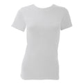 White - Front - FLOSO Ladies-Womens Thermal Underwear Short Sleeve T-Shirt-Top (Standard Range)