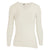 White - Front - Floso Womens-Ladies Thermal Brushed Long Sleeved T-Shirt