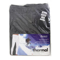 Charcoal - Back - FLOSO Mens Thermal Underwear Long Johns-Pants (Standard Range)