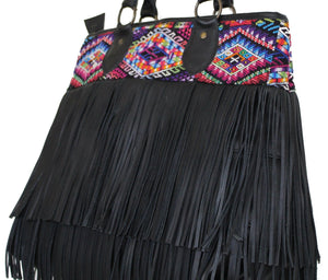 DEDE Fringe Bag - Large 0004