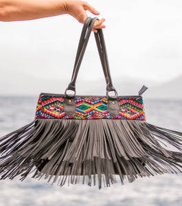 DEDE Fringe Bag - Large 0003