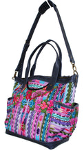 Load image into Gallery viewer, ELENA Medium Convertible Day Bag - Textile Pocket 0009