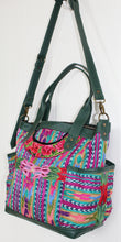 Load image into Gallery viewer, ELENA Medium Convertible Day Bag - Textile Pocket 0014