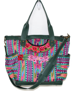 ELENA Medium Convertible Day Bag - Textile Pocket 0014