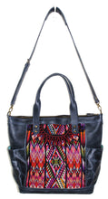 Load image into Gallery viewer, GABRIELLA Large Convertible Day Bag - Leather Pocket 0015