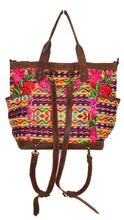 Load image into Gallery viewer, GABRIELLA Large Convertible Day Bag - Textile Pocket 0011