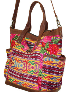 GABRIELLA Large Convertible Day Bag - Textile Pocket 0011