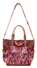 Load image into Gallery viewer, GABRIELLA Large Convertible Day Bag - Textile Pocket 0010
