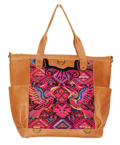 GABRIELLA Large Convertible Day Bag - Leather Pocket 0014