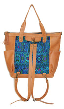 Load image into Gallery viewer, GABRIELLA Large Convertible Day Bag - Leather Pocket 0017