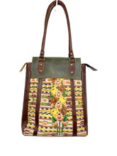 Load image into Gallery viewer, LUNA Over the Shoulder Tote 0002