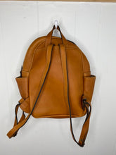 Load image into Gallery viewer, MoonLake Designs Paloma backpack full leather back view showing adjustable straps