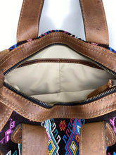 Load image into Gallery viewer, MoonLake Designs hand sewn Renata interior close up with zippered closure