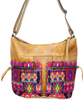Load image into Gallery viewer, ROSA CROSSBODY Double Zipper Crossbody 0002