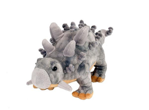 ankylosaurus plush wild republic stuffed spikes cute fun dinosaur dino tough strong grey tail protection herbivore