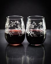 Load image into Gallery viewer, Science of Wine Glass Set