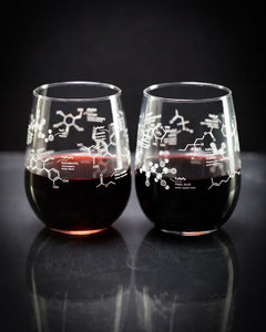 Science of Wine Glass Set