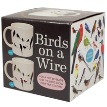 Load image into Gallery viewer, Birds on a Wire Disappearing Mug