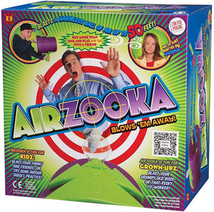 Airzooka tradeopia air amusing blow stress relief elastic no ammo children adults