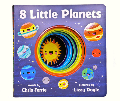 8 little planets chris ferrie lizzy doyle kids book children cute space raincoast books sourcebooks explore solar system vibrant art fun fact-filled planetary tale baby university