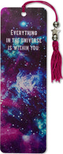 Load image into Gallery viewer, Galaxy Beaded Bookmark