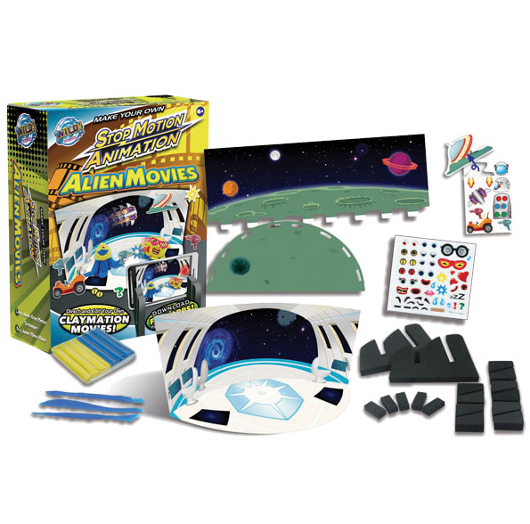 Alien Movies - Stop Motion Animation Kit