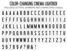 Load image into Gallery viewer, Original Cinema Lightbox (Color-Changing)