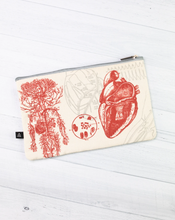 Load image into Gallery viewer, Anatomical Heart Zip Case