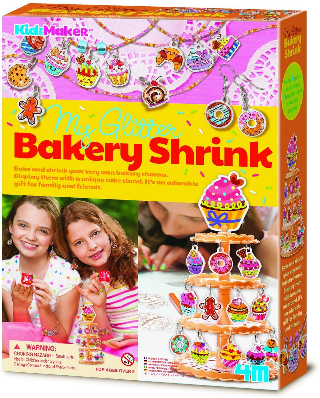 KidzMaker My Glitter Bakery Shrink Kit