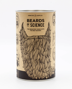 Great Beards of Science Pint Glass