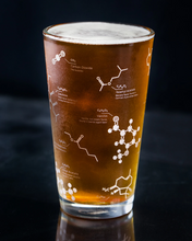 Load image into Gallery viewer, Beer Chemistry Pint Glass Set of 2