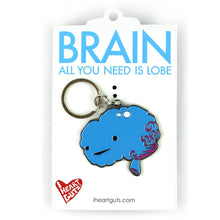 Load image into Gallery viewer, Brain Keychain