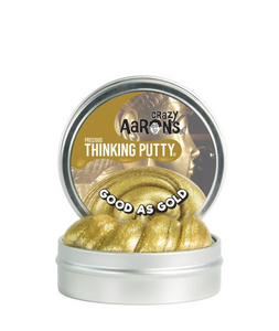 crazy aarons thinking putty  poppable tearable firm texture non-toxic silicon never dries out good as gold tutankhamun wealth power ra sun god solid gold egypt metallic gold