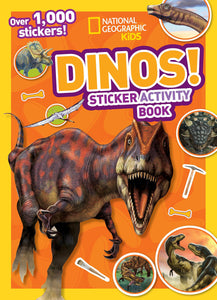 National Geographic Kids Dinos! Sticker Activity Book