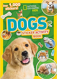 National Geographic Kids: Dogs Sticker Activity Book