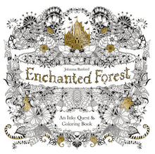 Load image into Gallery viewer, Enchanted Forest: An Inky Quest and Coloring Book